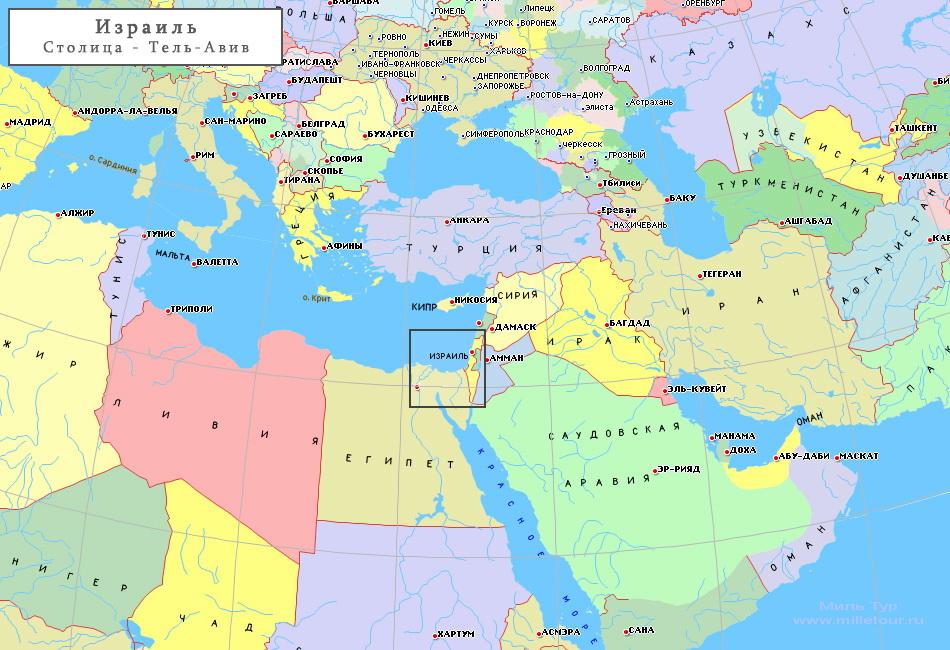не съездить в Израиль?