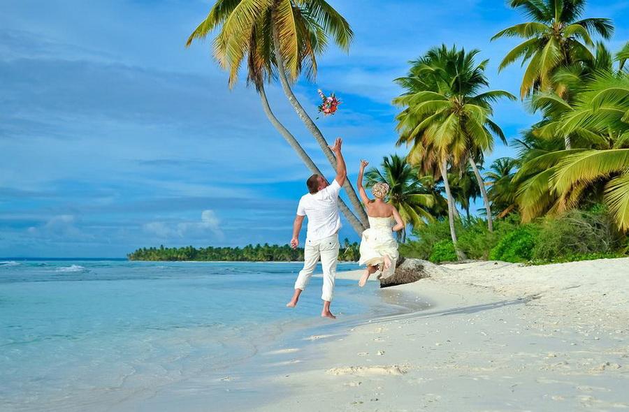 Доминикана - одна из лучших стран для свадебной церемонии - туры в Миль Тур